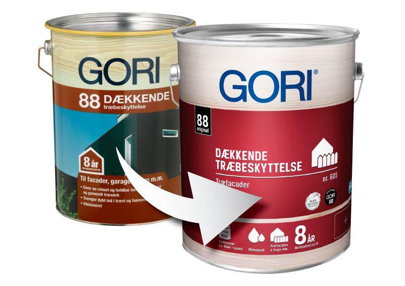 Gori 88 Dækkende har ændret navn til Gori 605 Dækkende Træbeskyttelse