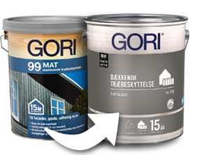 Gori 99 Mat til Gori 616 Dækkende Træbeskyttelse