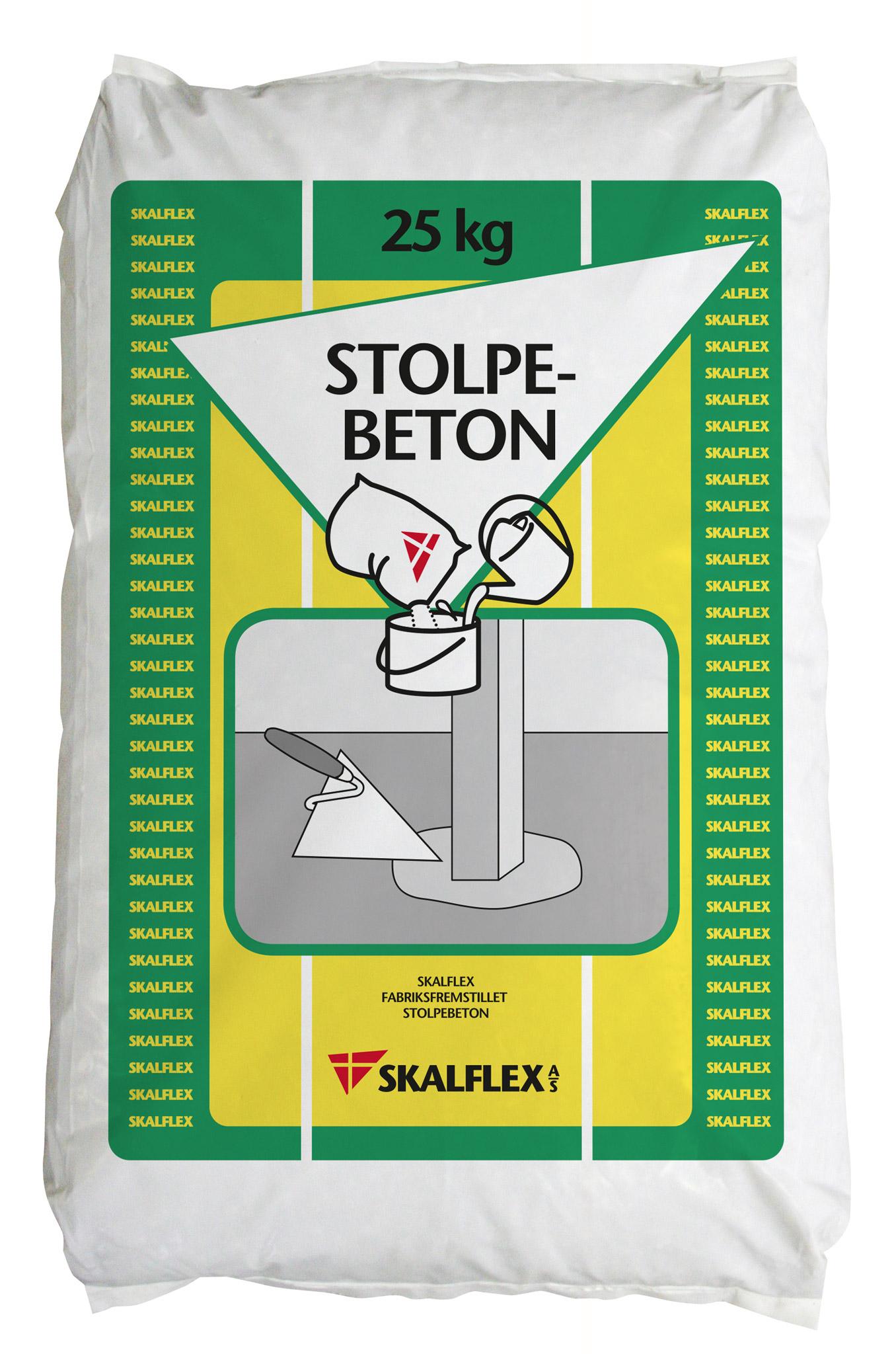 Skalflex stolpebeton