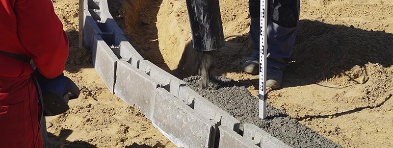 Fundablokke til stabilt og solidt byggeri. Køb billigt online på 10-4.dk