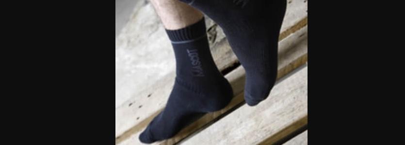 Arbejdsstrømper der transporterer sveden væk og holder fødderne tørre. Køb på 10-4.dk.