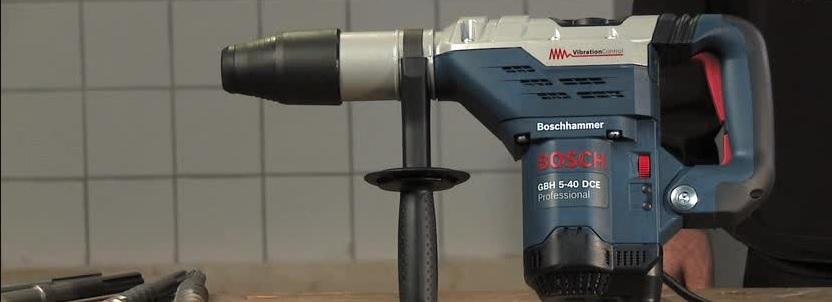 Bosch borehamre til billige priser med hurtig levering