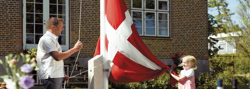 Flag til flagstangen i bedste kvalitet