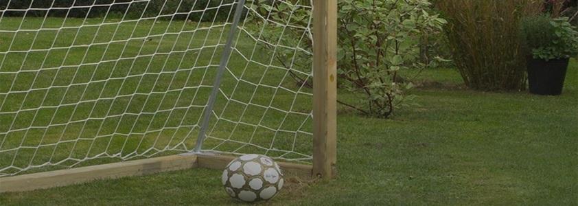 Stort udvalg af fodboldmål på 10-4.dk