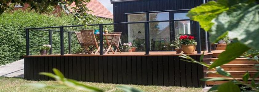 Glashegn fra Plaslmo - Se det store udvalg af hegn på 10-4.dk