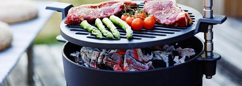 Grillrist, pander, gryder og meget mere tilbehør til din grill