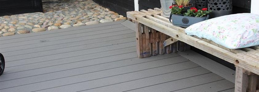 Komposit terrassebrædder - Køb online på 10-4.dk