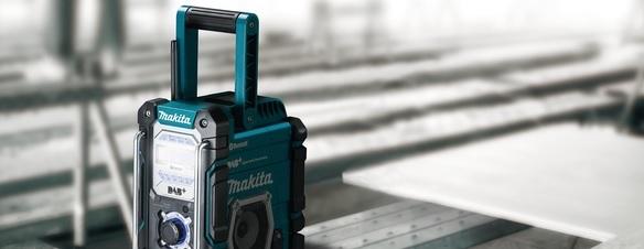 Makita radioer i høj kvalitet til de billigste priser