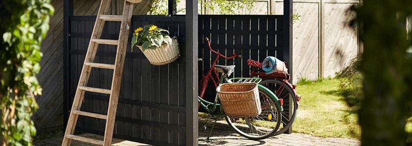Plus rustik hegn - Se det store udvalg af hegn på 10-4.dk