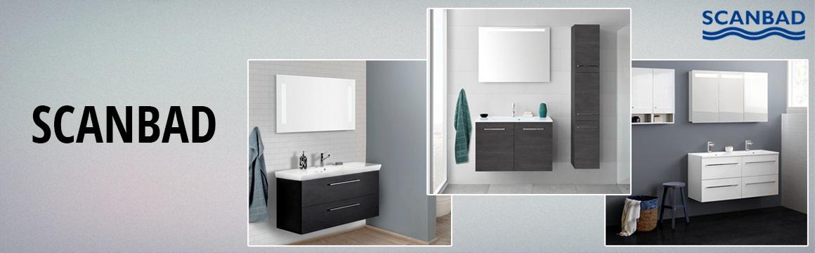 Skab et lækkert badeværelse med scanbad badeværelsesmøbler