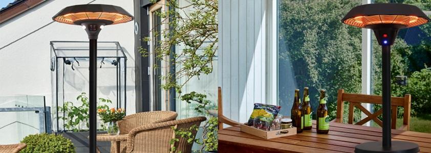 Med terrassevarmere forlænges hyggen og sommeraftnerne