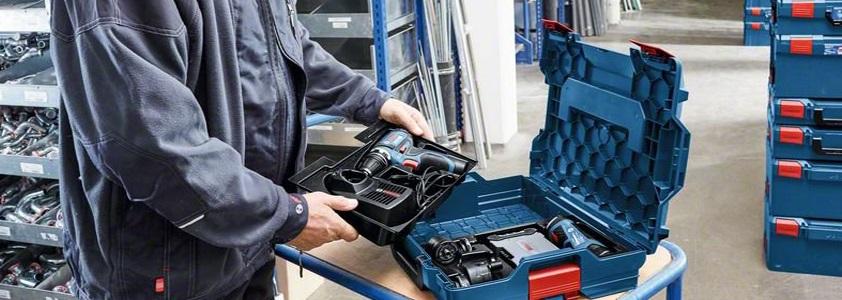 Få styr på dit værktøj, med en værktøjskasse fra fx Bosch - Køb nu på 10-4.dk