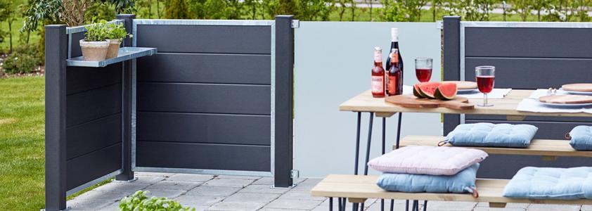 Cubic hegn fra Plus - Se det store udvalg af hegn på 10-4.dk