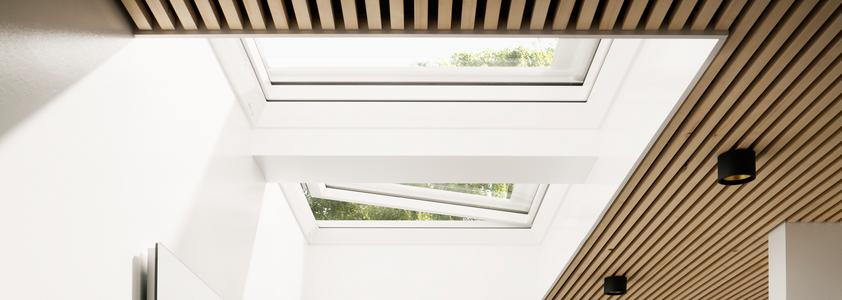 Velux fladtagsvinduer - Se det store udvalg af vinduer på 10-4.dk