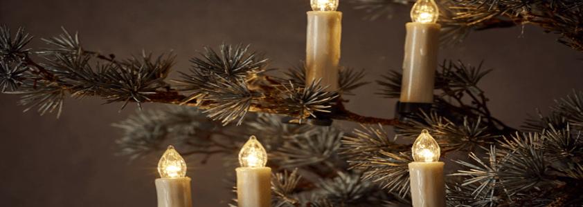 Stort udvalg af indendørs julebelysning på 10-4.dk