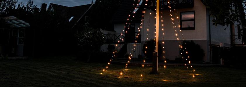 Stort udvalg af udendørsbelysning på 10-4.dk