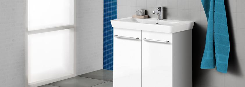 Stort udvalg af Scanbad badeværelsesmøbler på 10-4.dk