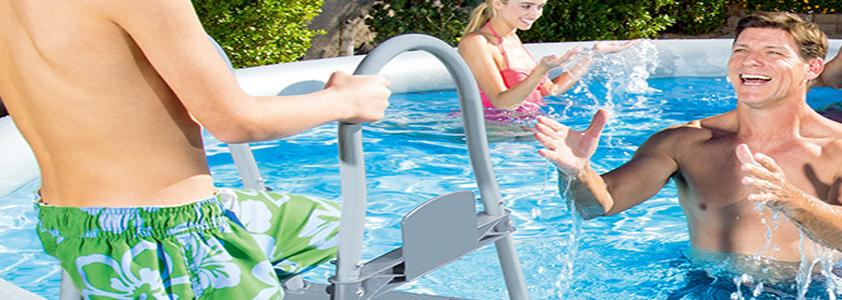 Køb badebassiner og tilbehør på 10-4.dk