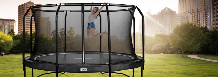 Have trampoliner fra Salta - Køb online på 10-4.dk
