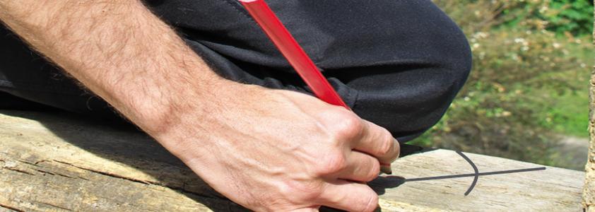 Find opmærkningsredskaber som tømmerblyanter hos 10-4.dk - Stort udvalg til skarpe priser.