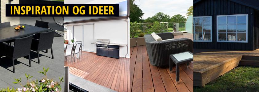 Inspiration og ideer til terrassen - guide