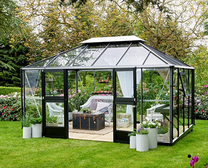 pavillon drivhus
