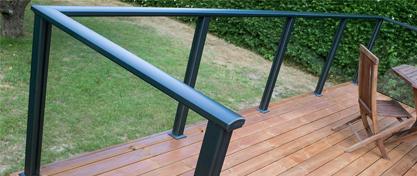 Aluminiumsprofiler til topmontering -  i hvid eller antracit
