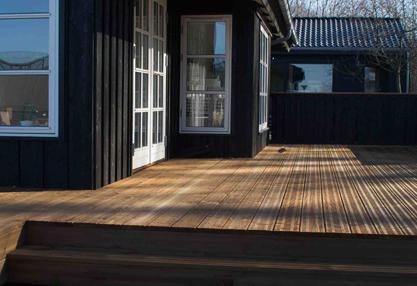 Køb Brunimprægnerede terrassebrædder