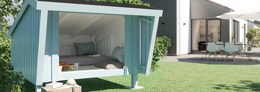 Nyd de hyggelige sommernætter i en shelter